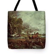 The Leaping Horse Tote Bag by John Constable