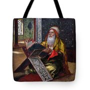 The Lectern Tote Bag by Ernst Rudolphe
