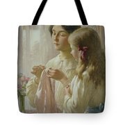 The Lesson Tote Bag by William Kay Blacklock