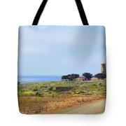 The Light At Piedras Blancas - San Simeon California Tote Bag by Christine Till