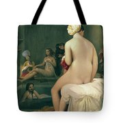 The Little Bather In The Harem Tote Bag by Jean Auguste Dominique Ingres