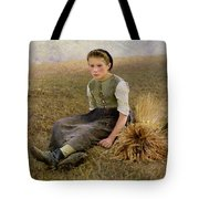 The Little Gleaner Tote Bag by Hugo Salmon