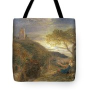 The Lonely Tower Tote Bag by Samuel Palmer