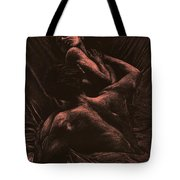 The Lovers Tote Bag by Richard Young