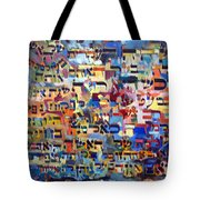 The Main Request Of The Wife Tote Bag by David Baruch Wolk