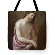The Man Of Sorrows Tote Bag by Guido Reni