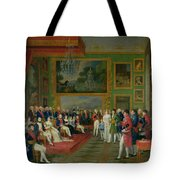 The Marriage of Eugene de Beauharnais Tote Bag by Francois Guillaume Menageot