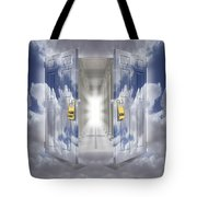 The Message Tote Bag by Mike McGlothlen