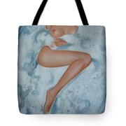 The Milk Bath Tote Bag by Sergey Ignatenko