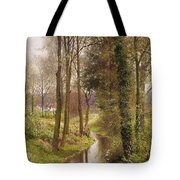 The Mill Stream Tote Bag by Henry Sutton Palmer