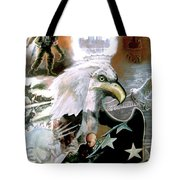 The New American Pride Tote Bag by Todd Krasovetz