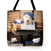 The Novelist Tote Bag by Edward Fielding