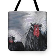 The Odd Couple Tote Bag by Nadine Rippelmeyer