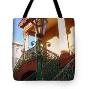 The Old City Market In Charleston Sc Tote Bag by Susanne Van Hulst