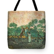 The Olive Pickers Tote Bag by Vincent van Gogh
