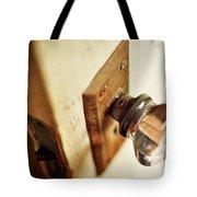 The Open Door Tote Bag by Rebecca Sherman