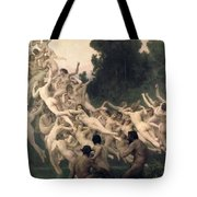 The Oreads Tote Bag by William-Adolphe Bouguereau