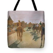 The Parade Tote Bag by Edgar Degas