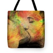 The Passion Of A Kiss 1 Tote Bag by Mark Ashkenazi