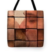 The Passion Of A Kiss 2 Tote Bag by Mark Ashkenazi