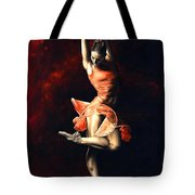 The Passion Of Dance Tote Bag by Richard Young