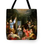 The Pentecost Tote Bag by Louis Galloche