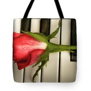 The Piano Gift Tote Bag by Sophie De Roumanie