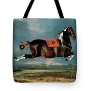 The Piebald Horse Tote Bag by Johann Georg Hamilton