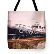 The Pilot Boat Tote Bag by Marguerite Chadwick-Juner