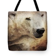 The Polar Bear Tote Bag by Angela Doelling AD DESIGN Photo and PhotoArt