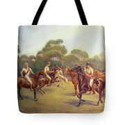 The Polo Match Tote Bag by C M  Gonne