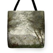 The Pond Tote Bag by Jean Baptiste Corot