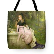 The Princess And The Frog Tote Bag by William Robert Symonds