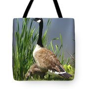 The Protector Tote Bag by Deborah Benoit