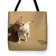The Puppies Tote Bag by Madeline Ellis