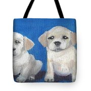 The Pups 2 Tote Bag by Roger Wedegis