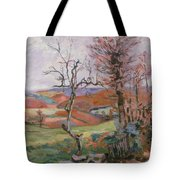 The Puy Barion at Crozant Tote Bag by Jean Baptiste Armand Guillaumin
