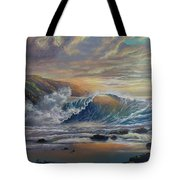 The Radiant Sea Tote Bag by Marco Antonio Aguilar