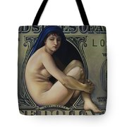 The Rape Of Lady Liberty Tote Bag by Patrick Anthony Pierson