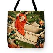 The Resurrection Tote Bag by Johann Koerbecke
