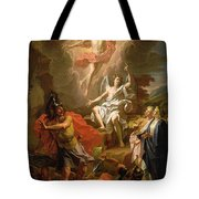 The Resurrection Of Christ Tote Bag by Noel Coypel