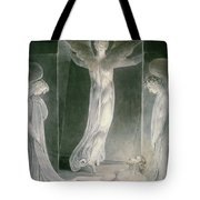 The Resurrection Tote Bag by William Blake
