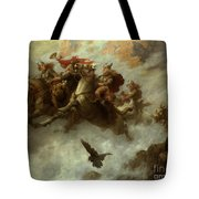 The Ride Of The Valkyries  Tote Bag by William T Maud