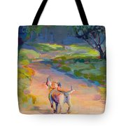 The Road Ahead Tote Bag by Kimberly Santini