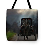 The Road Less Traveled Tote Bag by Lori Deiter