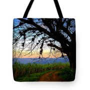 The Road Less Traveled Tote Bag by Skip Hunt
