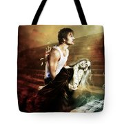 The Sacrifice Tote Bag by Mary Hood