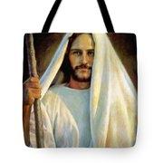 The Savior Tote Bag by Greg Olsen