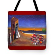 The School Of Metaphysical Thought Tote Bag by Dimitris Milionis