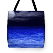 The Sea At Night Tote Bag by Gina Lee Manley